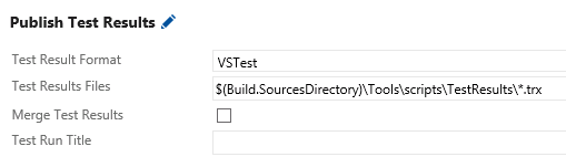 Setting up coverage reports on TFS with OpenCover